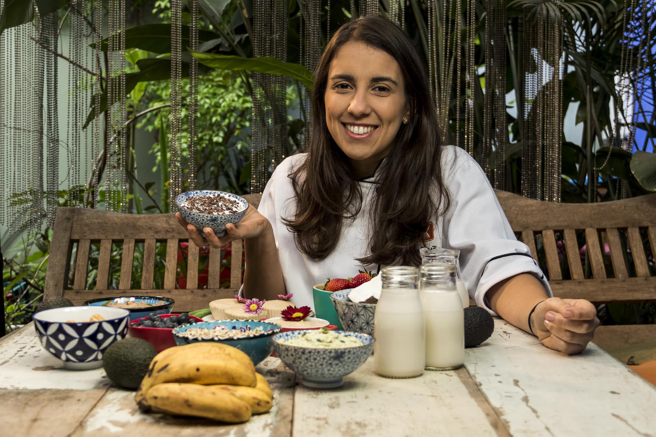A chef Bruna Pavão desenvolve receitas certeiras para o público vegano, vegetariano e também para que se preocupa com a saúde acima de tudo!