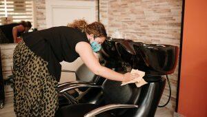 higiene e segurança no salão de beleza