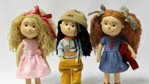 como fazer boneca de pano